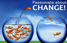 gepassioneerd over verandering