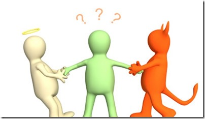 """Hoe zit het met jouw goede voornemens? Lukt het of val je terug? Praat eens met je """"delen""""!"""